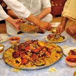 arab eating