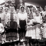 Polish immigrants traveling to the USA, SS La Touraine
