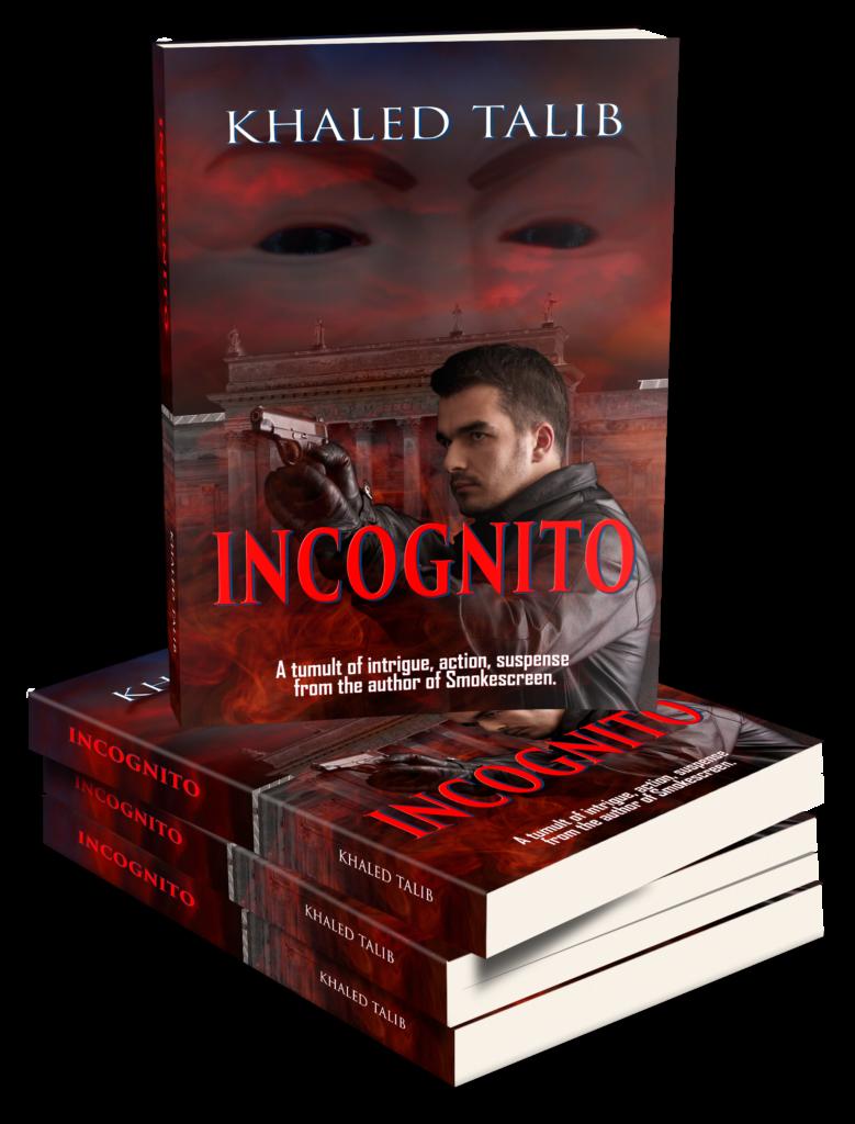 Incognito 3D Book Stack